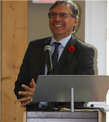 Dr. Matthew Coon Come, Grand Chief of the Grand Council of the Crees(EeyouIstchee)