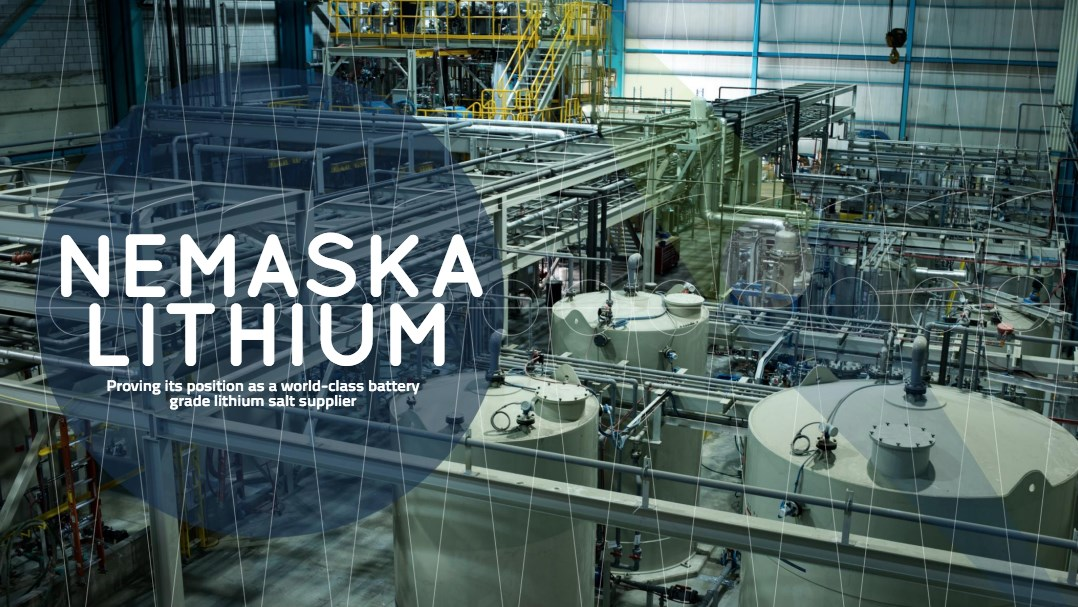 Dossier sur Nemaska Lithium dans le Resource Global Network Magazine